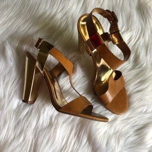 New! brown heels size 8